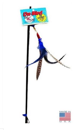 Da Bird Feather Cat Teaser